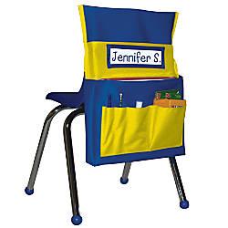 Carson Dellosa Chairback Buddy BlueYellow