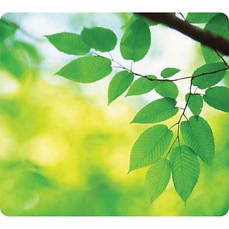 Fellowes® Optical Mouse Pad, Leaves