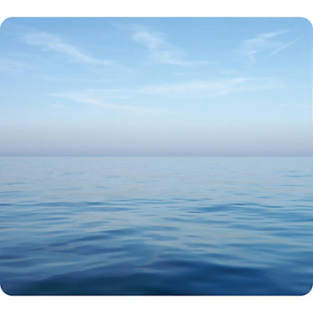 Fellowes® Optical Mouse Pad, Blue Ocean