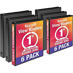 Samsill 1 Value View Binders 1