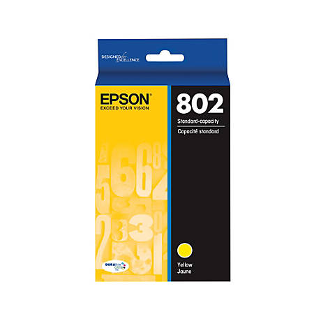 Epson® DuraBrite® Ultra T802420-S Yellow Ink Cartridge