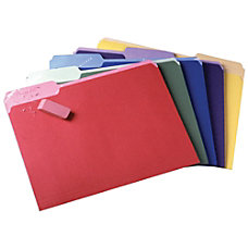 Pendaflex Color File Folders Erasable Tabs