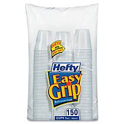 Hefty Easy Grip Bathroom Cups 1800