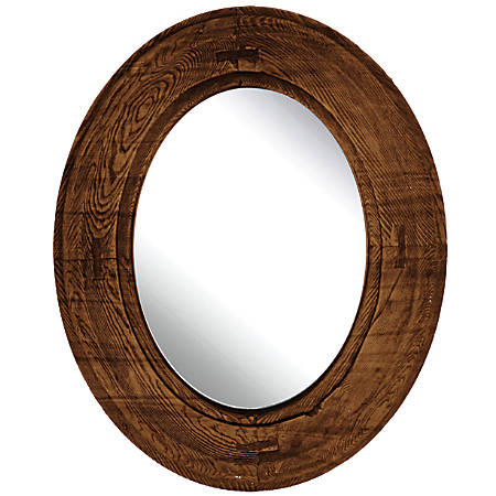 PTM Images Framed Mirror Oval 22 18 H x 18 18 W Multicolor by Office ...