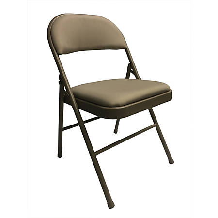 Reale Upholstered Padded Folding Chair