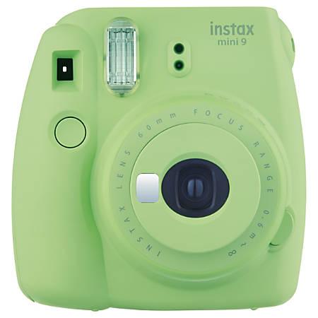 Fujifilm® instax® mini 9 Camera, Lime Green, INSTAXMINI9GREEN