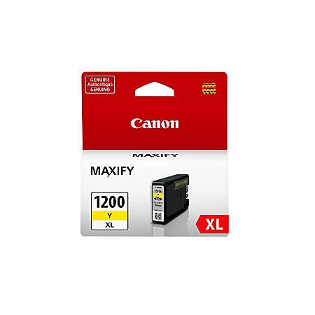 Canon PGI-1200 XL High-Yield Yellow Ink Tank (9198B001)
