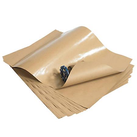 "Office Depot® Brand Poly-Coated Kraft Paper, Sheets, 24"" x 36"", Kraft, Case Of 410"
