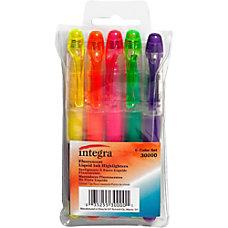 Integra Liquid Highlighters Fine Marker Point