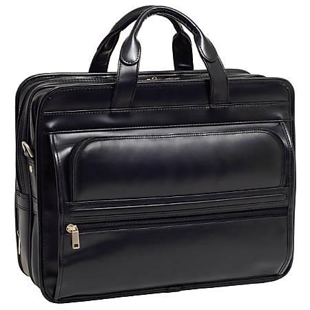 Mckleinusa 156 Leather Double Compartment Laptop