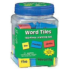 Eureka Learning Tool Tub Word Tiles