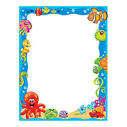 TREND Enterprises Sea Buddies Terrific Papers