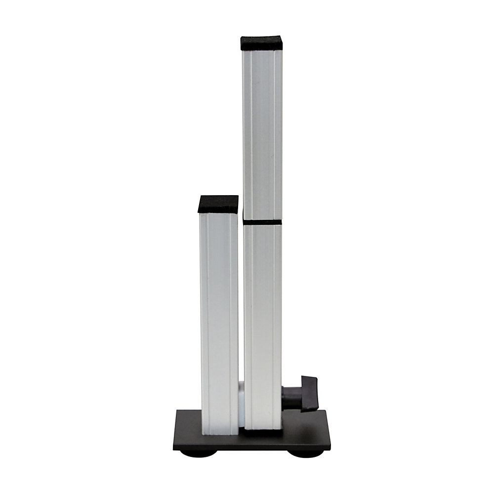 Add some extra stability to your Ergo Desktop Kangaroo Adjustable-Height Desk. This stabilization leg helps eliminate the vast majority of vibration while typing or writing on the work surface.  Fully adjustable from 10 1/2