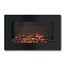 Cambridge Callisto CAM30WMEF 2BLK Electric Fireplace