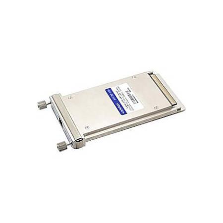 AddOn Brocade 100G-CFP-SR10 Compatible TAA Compliant 100GBase-SR10 CFP Transceiver (MMF, 850nm, 150m, MPO, DOM)