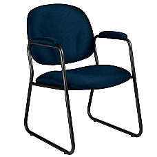 Global Solo Fabric Guest Chairs With