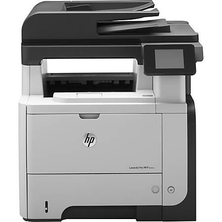 HP LaserJet Pro Laser Printer, M521dn MFP