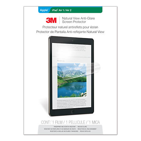 3M™ Anti-Glare Screen Protector for Apple®; iPad Air®; 1/2/Pro®; 9.7