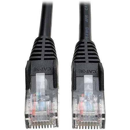 Tripp Lite N001-030-BK Cat5e UTP Patch Cable