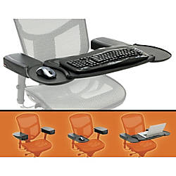 Mobo Chair Mount Ergo Keyboard and