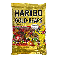 Haribo Gummies Gold Bears 5 Lb
