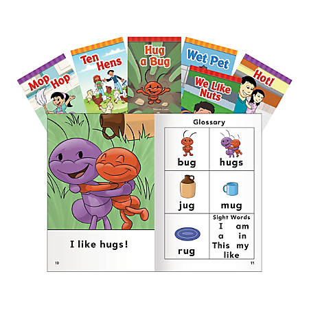 Teacher Created Materials Short E O U Rimes Book Set Pre K Grade 1