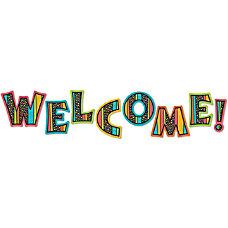 Carson Dellosa Stylin Stripes Welcome Bulletin