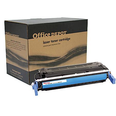 Office Depot® Brand 21ACR (HP 641A / C9721A) Remanufactured Cyan Toner Cartridge