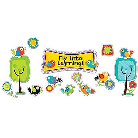 Carson-Dellosa Boho Birds Fly Into Learning Bulletin Board Set, Multicolor, Grades Pre-K - 5