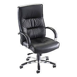 Lorell Bridgemill Executive Leather High Back