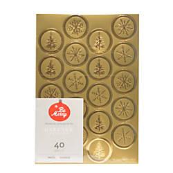 Gartner Studios Holiday Seals Gold Foil