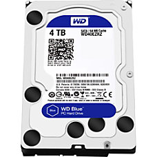 WD Blue 4TB 35 Internal Hard