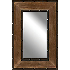 PTM Images Framed Mirror Metal And