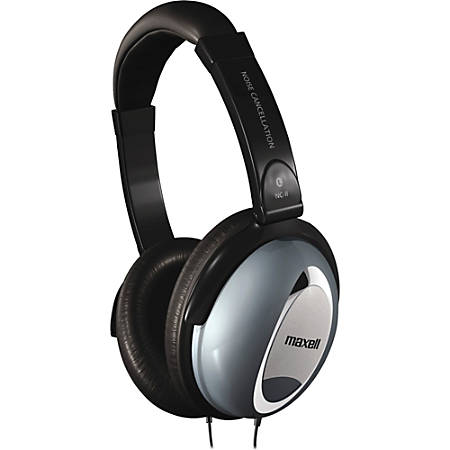 Maxell® 190400 Noise-Cancellation Headphones