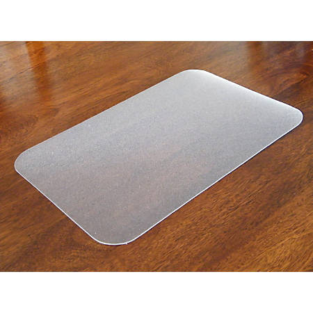 """Floortex Craftex Anti-Slip Polycarbonate Table Protector, 35"""" x 71"""", Clear"""