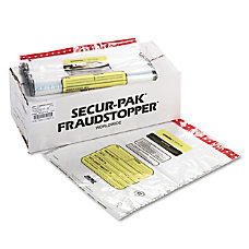 MMF Industries Tamper Evident Bundle Bags
