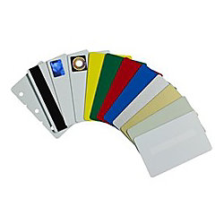 "Zebra Premier ID Card - 2.12"" Width x 3.38"" Length - 500 - White - Polyvinyl Chloride (PVC)"