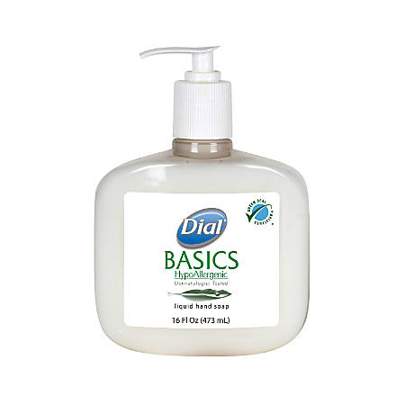 Dial® Basics Liquid Hand Soap, 16 Oz