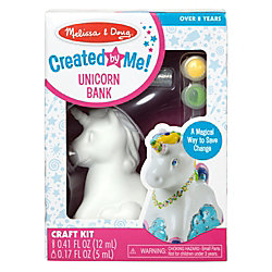 Melissa & Doug Pretend Play Educational Toys, Created By Me Unicorn Bank
