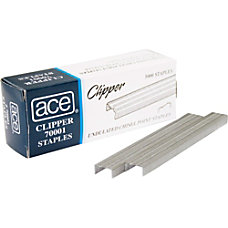 Ace Undulated Clipper Staples 14 Box