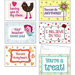 Scholastic Teachers Friend Postcards 6 x