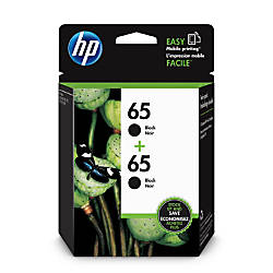 HP 65 Black Ink Cartridges 1VU22AN140