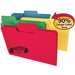 Smead SuperTab Heavyweight File Folders Legal