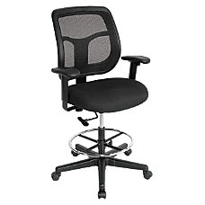 Eurotech Apollo Drafting Stool Black