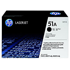 HP 51A Black Original Toner Cartridge
