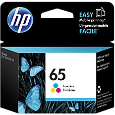 HP 65 Original Ink Cartridge Tri