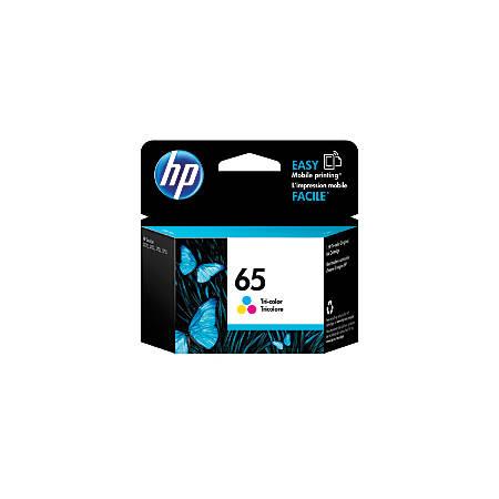 HP 65 Tricolor Ink Cartridge (N9K01AN#140)