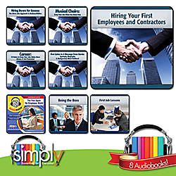 Career Job Audiobooks 8 Title Collection