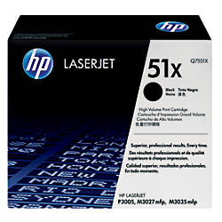 HP 51X High Yield Black Toner
