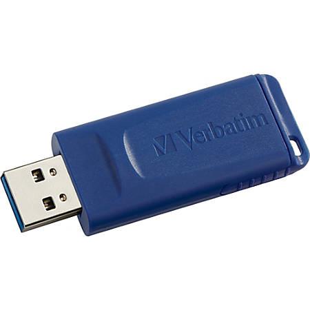 Verbatim® USB Flash Drive, 16GB, Blue
